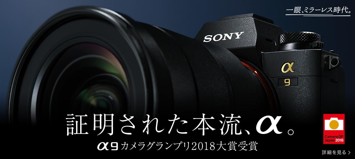 祝!α9 カメラグランプリ2018大賞受賞!!